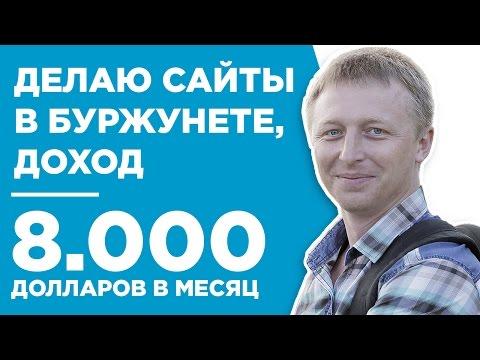 $8000 на сайтах в рунете и буржунете - стесняется на камеру