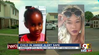 Kidnapped girl safe at home after Amber Alert