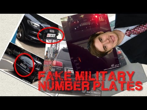 Fake Military Number Plates? (China in the News) | Learn Chinese Now