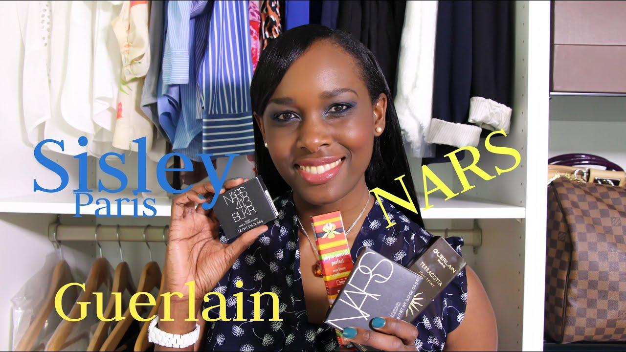 Sisley Paris Blush Haul Guerlain Sisley Paris