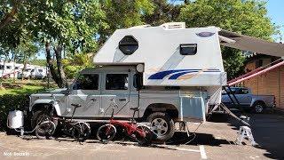 Camper Duaron 2016, Com Land Rover, 2011, Expo Camping e Expo Mortorhome, 2018.