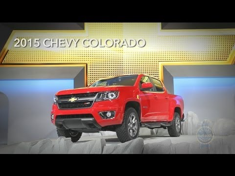 2015 Chevy Colorado - 2013 LA Auto Show