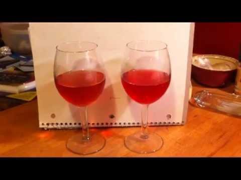 How to Make Homemade Rhubarb Wine
