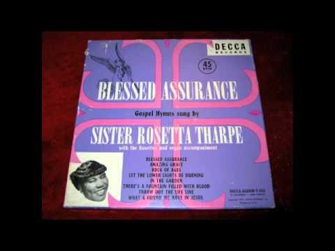 Sister Rosetta Tharpe - Blessed Assurance (Decca) Gospel Hymn