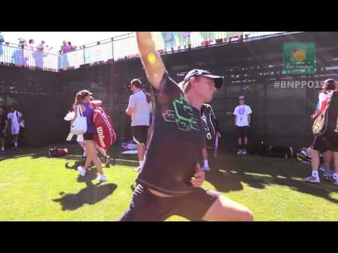 Up Close And Personal: Players and Fans at the BNP Paribas Open