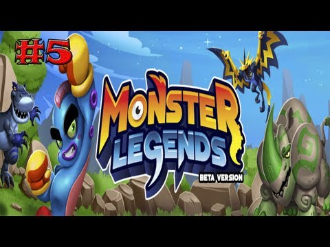 Monster Legends - Capitulo 5 - Nuevo Parche