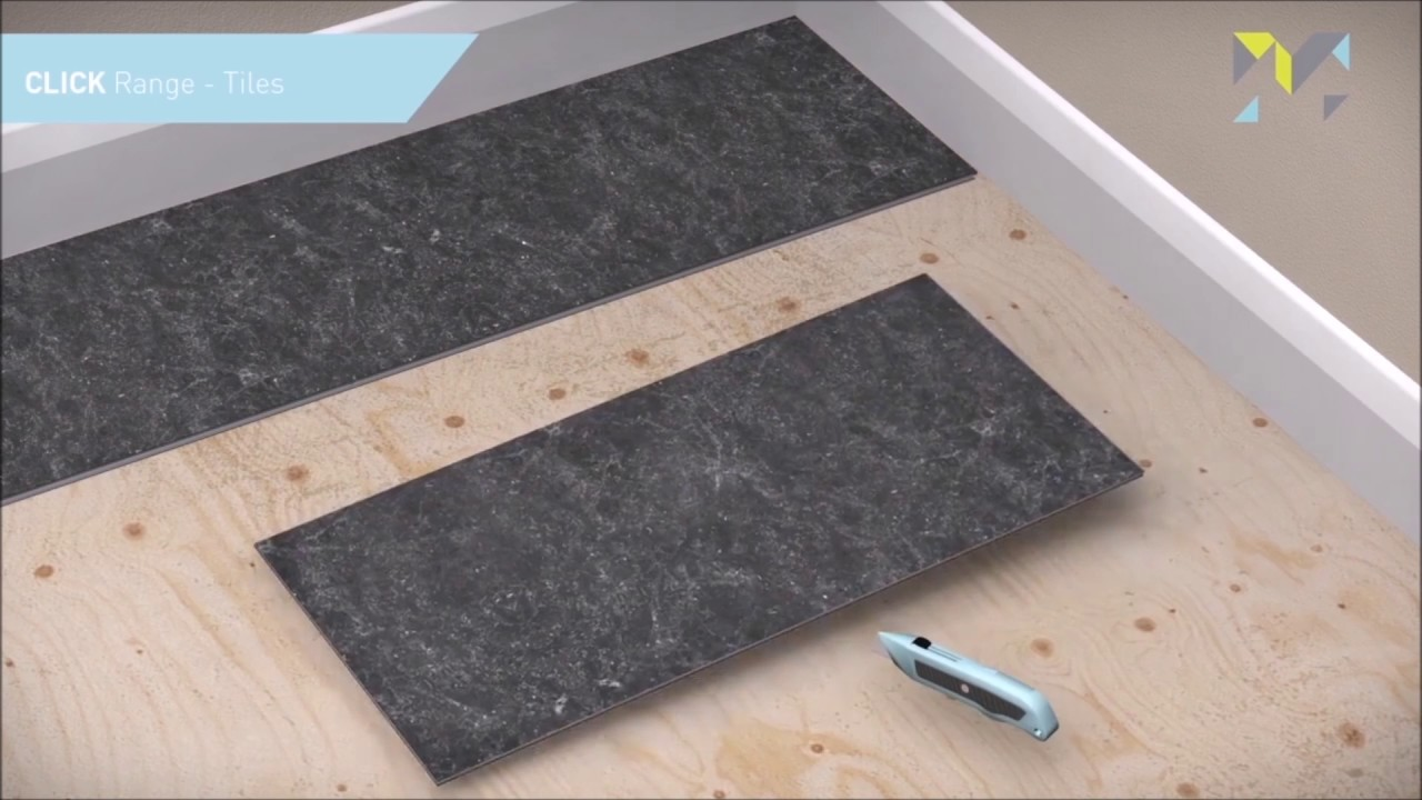 Floor tile installation guide