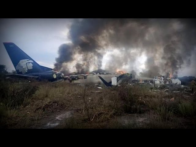 Aeroméxico plane crash: Passengers describe explosion