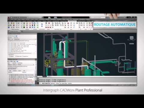 Intergraph CADWorx & Analysis | L'exécution de projets sur installations industrielles