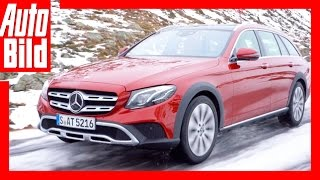 Mercedes-Benz E-Klasse All-Terrain - Review/Testdrive/offroad/Exterieur/Interieur