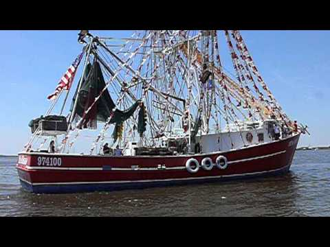 "The ""Miss Alena"" Shrimp Boat,Isle of Eight Flags Shrimp Festival, Fernandina Beach, Florida"