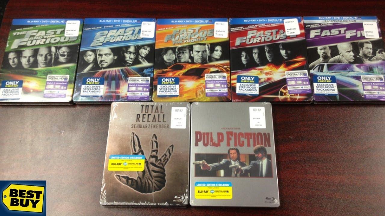 Best Buy SteelBook Haul/Unboxings! - Fast Furious 1-5 ...