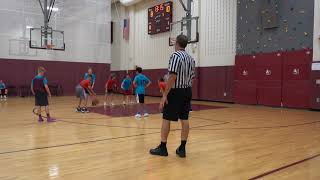 Evan   Police Basketball   Game 4