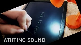 ASMR 부기보드에 글쓰기 | Writing Sound | Boogie Board (no talking)