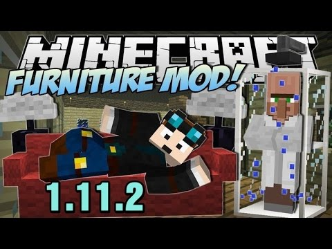 Top1MC - MrCrayFish's Furniture Mod 1.11.2 - Minecraft Installation & Review