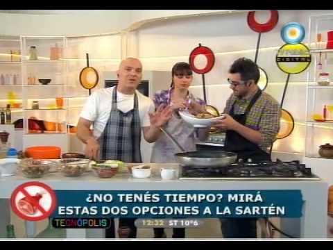 Santi y dos recetas- wok oriental y criollo.