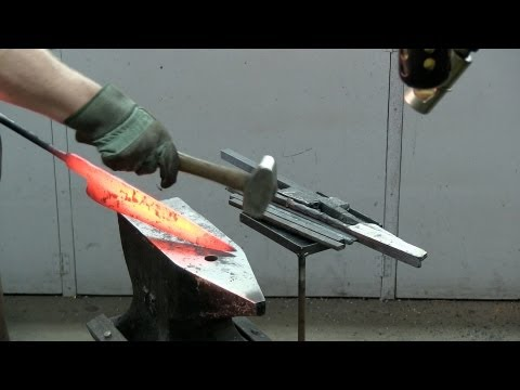 Forging A Kabab Barg Knife video