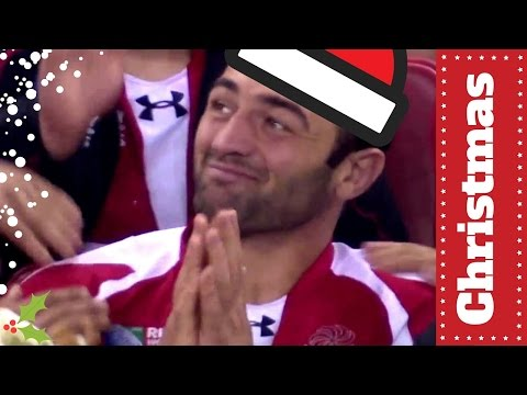 Mamuka Gorgodze's brilliant reaction | Festive Countdown