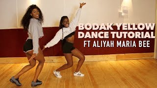 Aliyah Maria Bee Learns To Dance | Cardi B - Bodak Yellow | @LeoniJoyce Tutorial