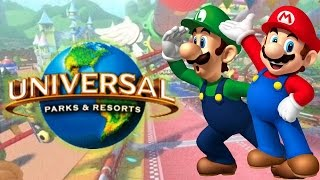 Nintendo Theme Parks Are Coming!