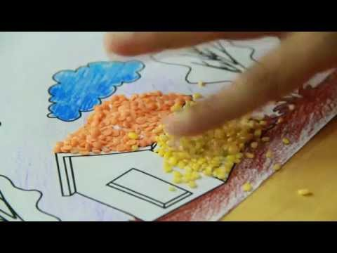 Craft work with waste materials youtube for Crafts by using waste material