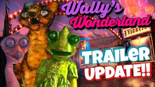 Wally's Wonderland Trailer Date + MORE!! (FNAF Movie Alike)