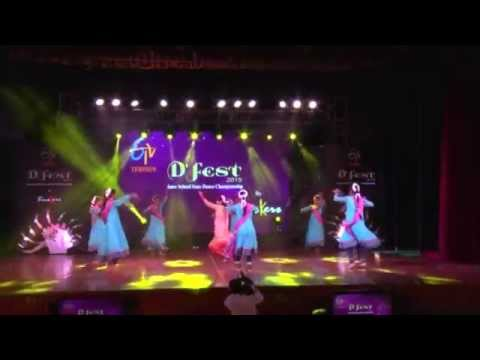 India International School - Classical/ Semi Classical  Group Dance Category