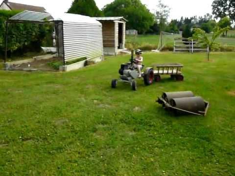 Mini tracteur youtube - Mini tracteur tondeuse ...
