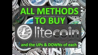 Litecoin First Time Buyer's Guide - How to Buy Litecoin Bitcoin Ethereum