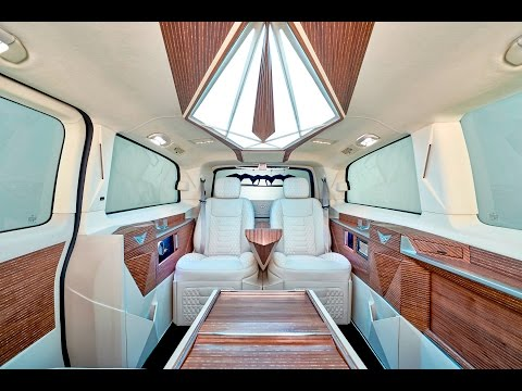 Luxury Van Conversion V Class -- офис на колесах от KLASSEN VIP Car Design Technology