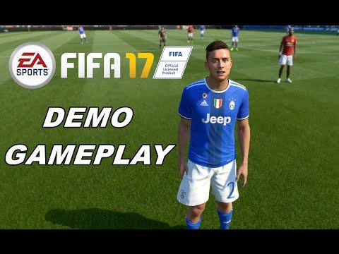FIFA 17 GAMEPLAY ITA - Full Match JUVENTUS Vs MANCHESTER UTD - DEMO PS4