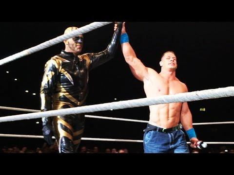 John Cena Leads The Crowd In Singing Happy Birthday To Goldust In Birmingham, England video