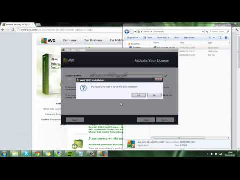 AVG Internet Security 2013 Full Edition Free [Serial Key]