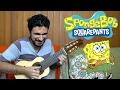 SpongeBob SquarePants Theme   Mini Guitar (Marcos Kaiser)