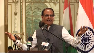 CM Shivraj Singh Chouhan at Friends of MP Reception at New York - Part 1