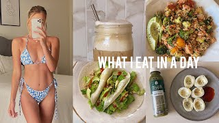 What I Eat in a Day | Healthy At Home