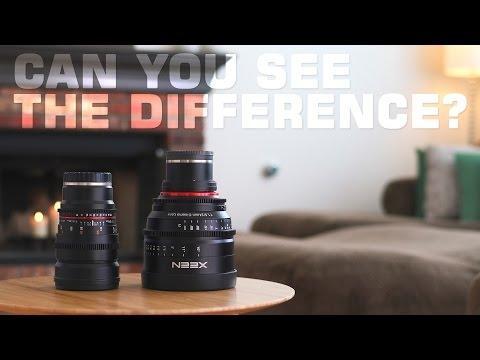 XEEN VS Rokinon $800 Lens VS $2.500 Lens!