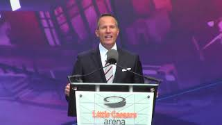 Christopher Ilitch CEO of Ilitch Holdings: Opening of Little Cesears Arena