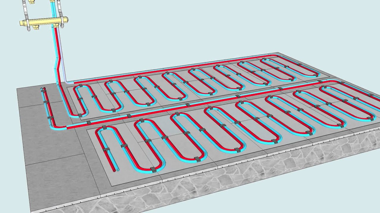 installing underfloor heating to promote your house