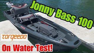 Jonny Boats Bass 100: On Water Test + Capsize!