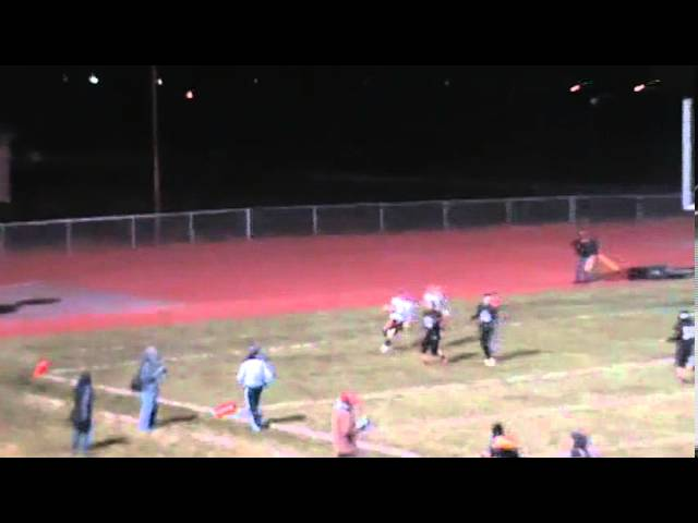 10-4-13 - Alec Petterson makes an amazing 22 yard TD grab (Brush 18, Strasburg 6)