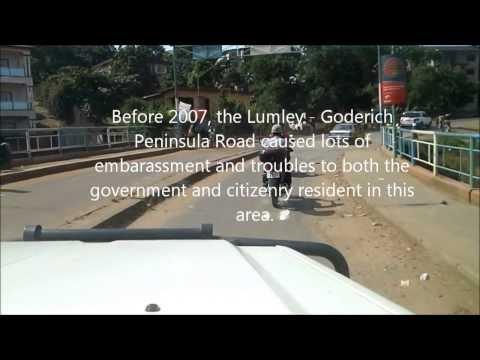 Lumley -  Goderich Peninsula Road, Freetown, Sierra Leone