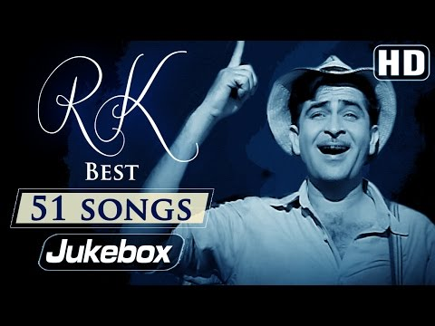 Ultimate Raj Kapoor 51 Songs Video JUKEBOX HD Evergreen Old Hindi Songs
