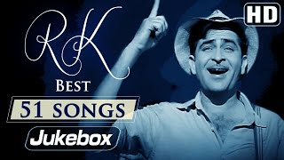 Ultimate Raj Kapoor 51 Songs Video JUKEBOX (HD) - Evergreen Old Hindi Songs