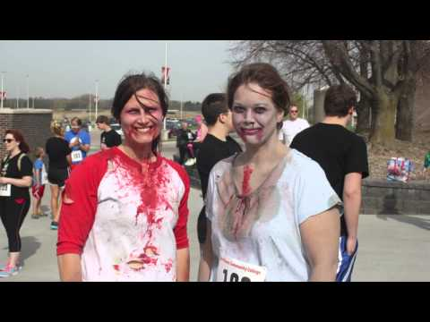 Talkin Hawks 5K Zombie Run Northeast Community College
