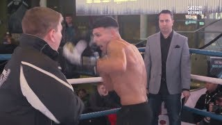 """""""I'm here to take over!"""" Tommy Fury drops Conor McGregor line at open workouts"""