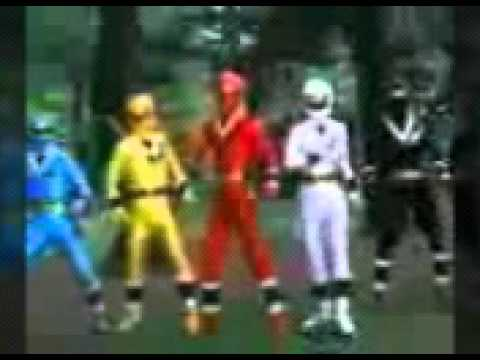 Mighty morphin  fights reversed
