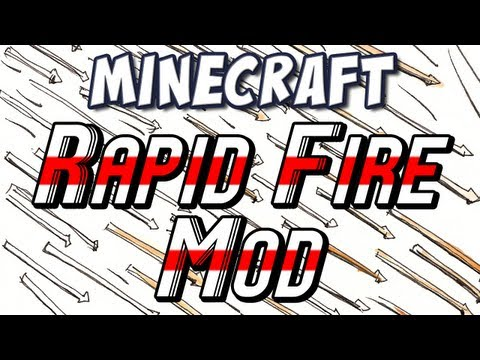 Minecraft - Rapidfire Bow & Time Control Mods! Music Videos