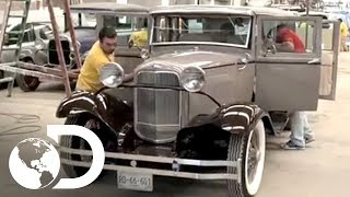 Réplica de auto antiguo: haciendo una carcachita Ford - Mexicánicos l Discovery Channel