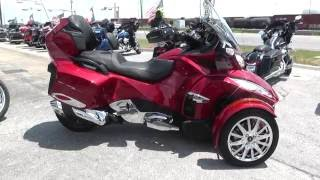 002353 - 2015 Can Am Spyder RT LIMITED SE6 - Used motorcycles for sale